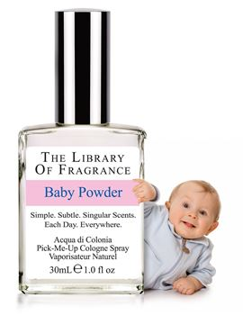 Immagine di Baby Powder 30ml Cologne Spray, The Library of Fragrances