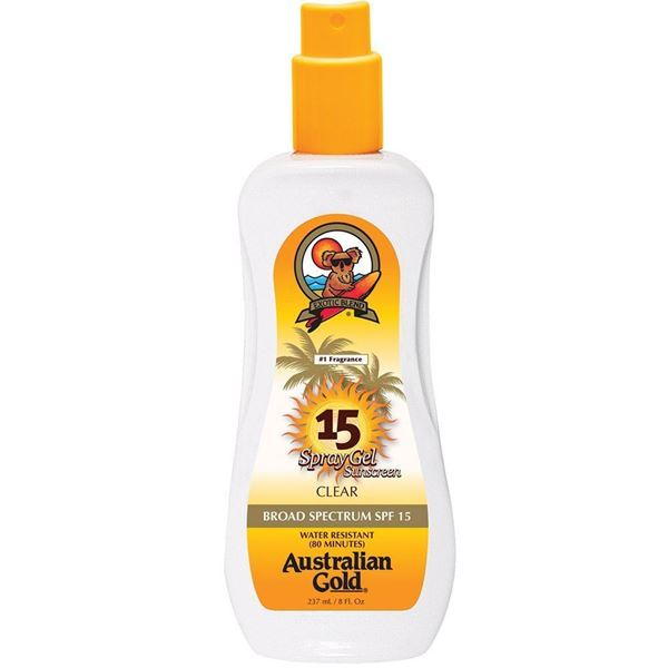 Immagine di Spray gel Spf 15, 237 ml Australian Gold