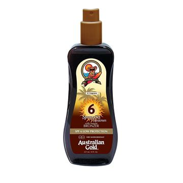 Immagine di Spray gel Spf 6 con effetto bronze, 237 ml Australian Gold