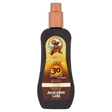 Immagine di Spray gel Spf 30 con effetto bronze, 237 ml Australian Gold