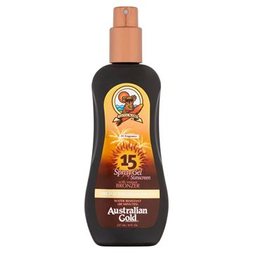 Immagine di Spray gel Spf 15 con effetto bronze, 237 ml Australian Gold