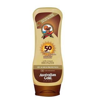 Immagine di Spf 50 con Kona Coffee ed effetto bronze, 237 ml Australian Gold