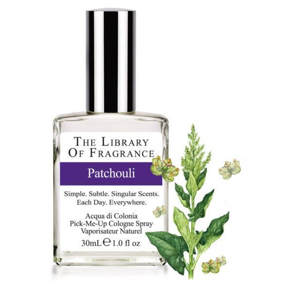 Immagine di Patchouli, 30 ml Eau de cologne The Library of Fragrance