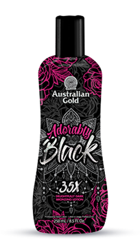 Immagine di ADORABLY BLACK 250 ml ,INTENSIFICATORE CON AUTOABBRONZANTE, AUSTRALIAN GOLD