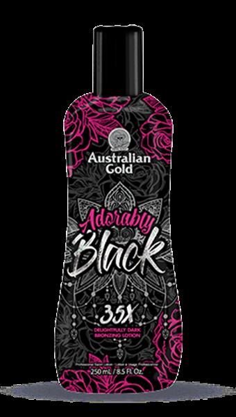 Immagine di ADORABLY BLACK 250 ml ,INTENSIFICATORE CON AUTOABBRONZANTE, AUSTRALIAN GOLD