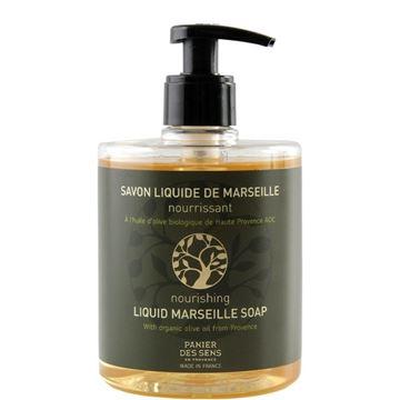 Immagine di Sapone liquido di Marsiglia Oliva Nutriente 500ml. PANIER DES SESNS